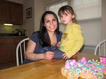 Jennifer Martel and her daughter, Arianna.